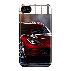 Awesome GmI8629jLdE CasePete Defender Tpu Hard Case Cover For Iphone 4/4s- 2012 Dodge Viper Gts