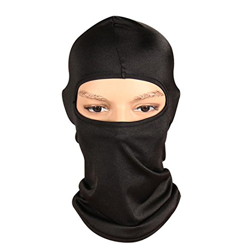 Mchoice Outdoor Ski Motorcycle Cycling Balaclava Full Face Mask Neck Ultra Thin - Mean What Polarized Is