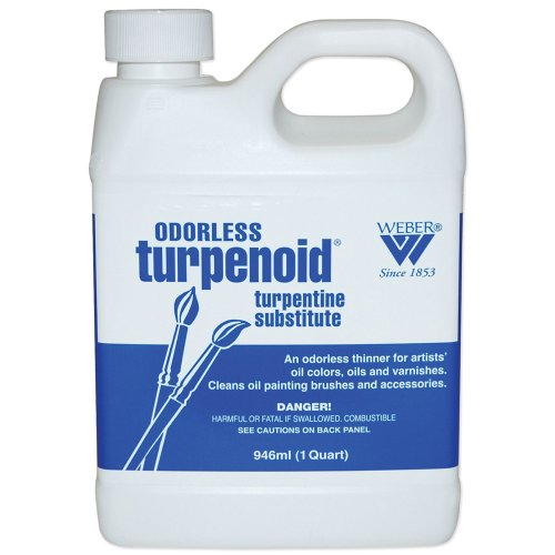 Weber Odorless Turpenoid, 946ml Bottle, 1 Each (1684) -