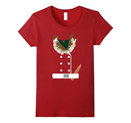 Womens Vampire Hunter Halloween Costume T-Shirt Funny Medium Cranberry
