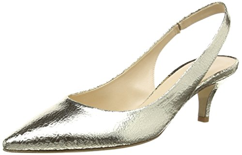 Kennel und Schmenger Schuhmanufaktur Selma, Damen Slingback Pumps, Gold (light gold 335), 39 EU (6 Damen UK)