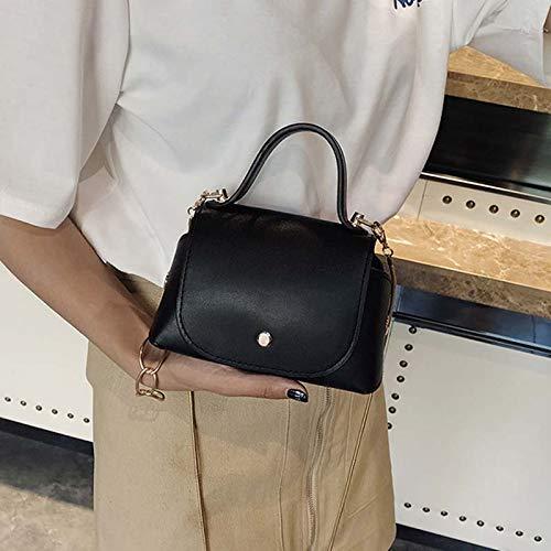 señora Dinero Shoulder lzndeal Black para PU Crossbody del teléfono Bolso el Lady del Cadena la de de de móvil Manera de la gxAB7gT