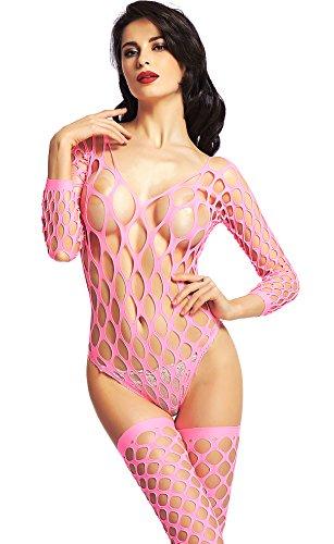 Pink Fishnet - 4
