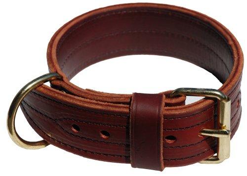 Signature K9 2-Inch Heavy Agitation Collar, Burgundy, My Pet Supplies