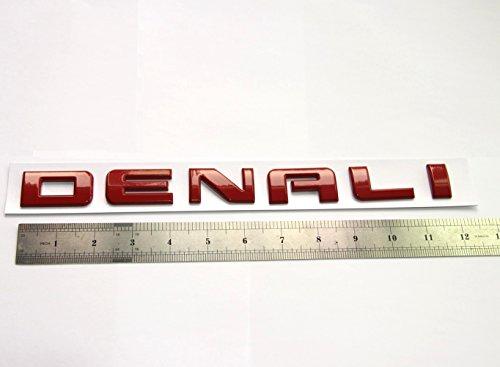 Yoaoo/® 1pcs Original Chrome Denali Nameplate Emblem Hd Badge for Gm 07-16 Yukon Sierra Terrain