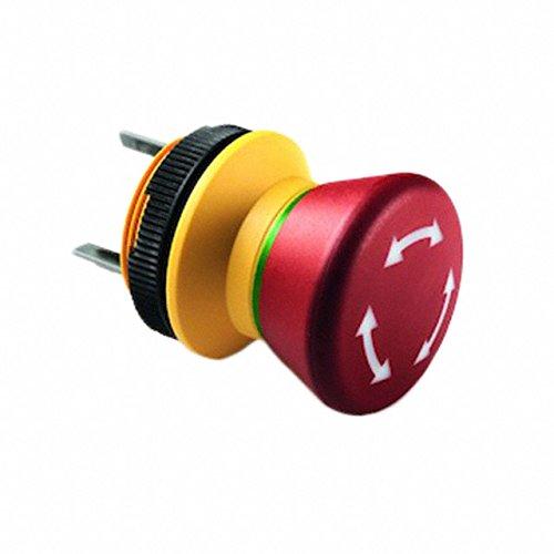 RAFI USA SWITCH PUSH DPST-NC 2.5A 240V Pushbutton Switches 1.15105.0110000 by RAFI USA