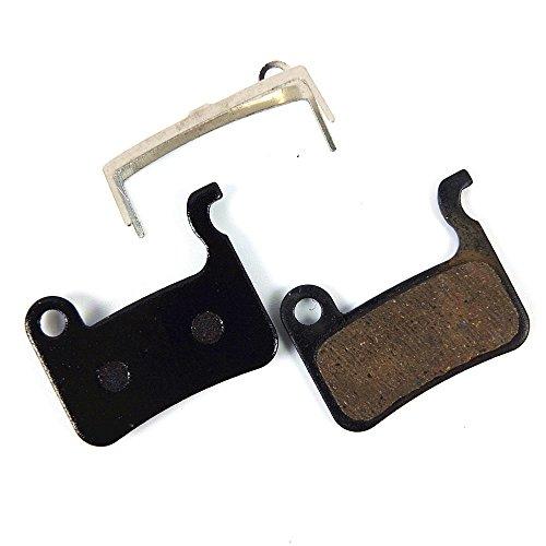 MTB Bicycle Disc Brake Pads for Shimano Deore M596/SLX M665/M775/M765/M596 Disk Brake, Black RESIN 1Pair