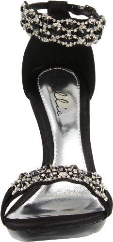 Scarpe Ellie Donna 431-sandalo Nero