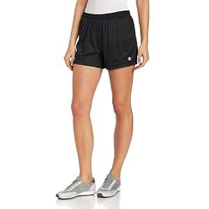 Champion Women's Mesh Short, Black, X-Large