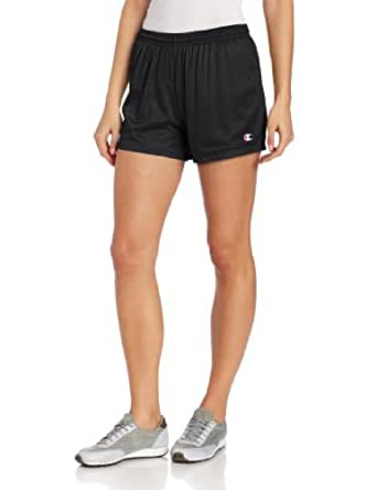 Champion Women's Mesh Short, Black, X-Small