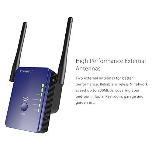 Coredy 300mbps Mini Wifi Extender Wi Fi Range Extender