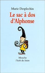 Le sac à dos d'Alphonse  par Marie Desplechin