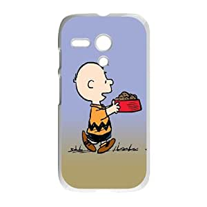 Motorola G Cell Phone Case White Snoopy 10 U1Y5IV