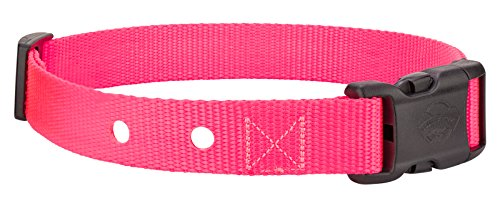 Country Brook Design Nylon Replacement Collar Dog Fence Receivers-Hot Pink