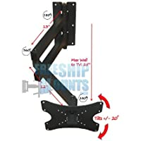 Extra Long Arm Full Motion Mount for Tv Screen Sizes 19-42 Can Be Used For Corner