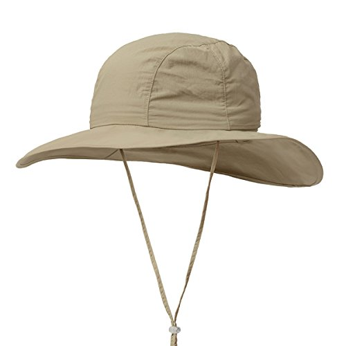 Surblue Crushable Ventilated Bucket Wide Brim Sombriolet Sun Hat Safari Hat -Sun Protective UPF (Crushable Bucket)