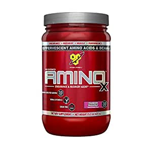 BSN Amino X Supplement, Strawberry Dragon Fruit, 435g