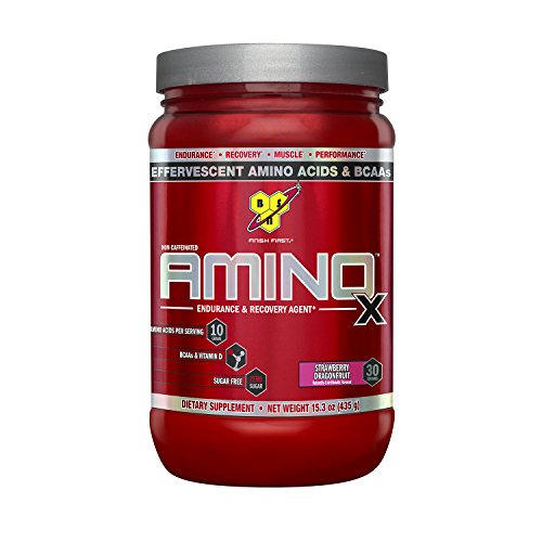 BSN Amino X Supplement, Strawberry Dragon Fruit, 435 Gram