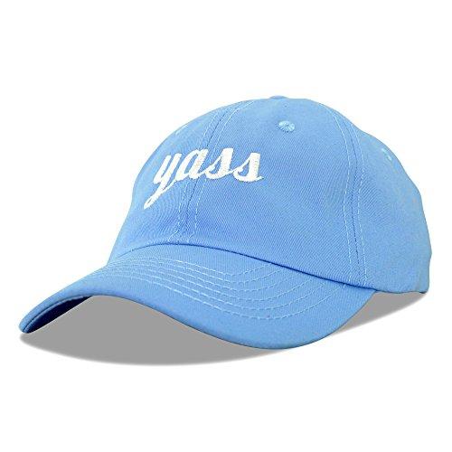 DALIX Yass Baseball Cap Dad Hats Womens Blue