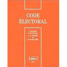 Code électoral 2001 (ancienne édition)