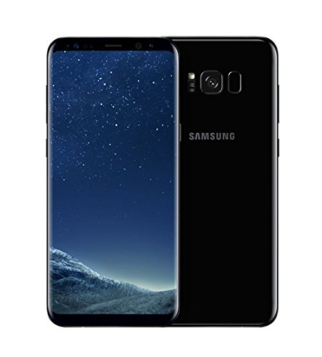 Samsung SM-G950FD Unlocked Smartphone, Galaxy S8 Duos 64GB, 1-Year B&H Warranty – International Variant/US Compatible LTE (Midnight Black)