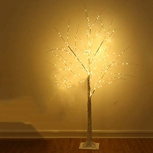 ABTSICA Cadena de Luces LED, Luces de Abedul Simulación navideña Árbol de Navidad Sala de Estar Decoración del hogar…