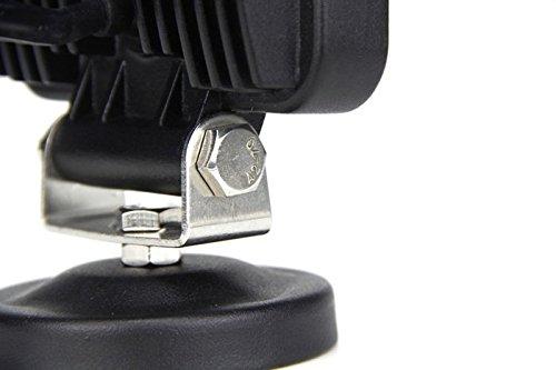 UTV ATV SAILUN 15W LED Feux de travail Lumi/ères suppl/émentaires Lampe de travail Floodlight hors route Phares 12V 24V Avec base magn/étique Pour SUV