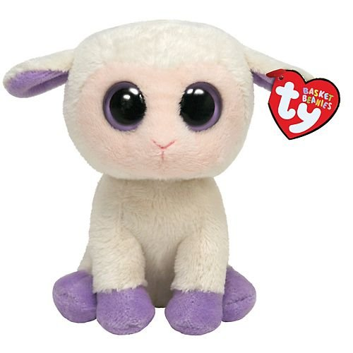 Ty Basket Beanie - Lily the Lamb (Lily Basket)