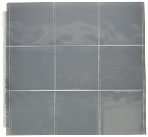 WR Memory Keepers 12 x 12 Inch (9 - 4 x 4 Inch Pockets) 3-Ring Album Photo Sleeve Protectors , 10/pkg ()
