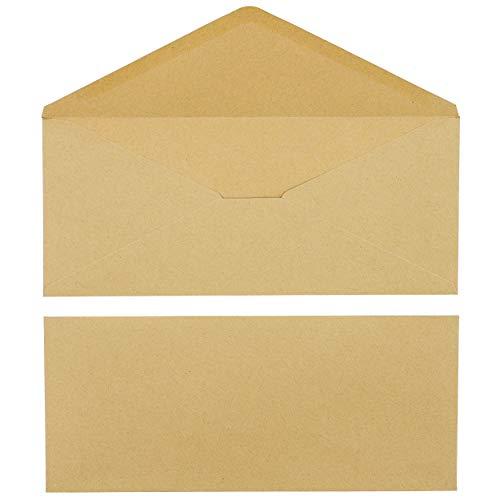 Juvale 60-Pack #12 Standard Kraft Business Envelopes, 4 3/4 x 11 Inches