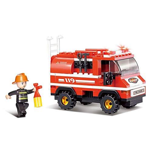 Sluban Mini Fire Truck, Multi Colour