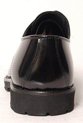 Antica Calzoleria Campana Schuhe | Mod. 1305 | Lack-Optik | Cap Toe | schwarz Schwarz