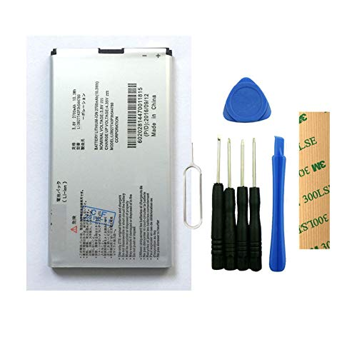 for Sprint ZTE MF975S Pocket WiFi Replacement Battery Li3827T43P3h544780 Free Adhesive Tool
