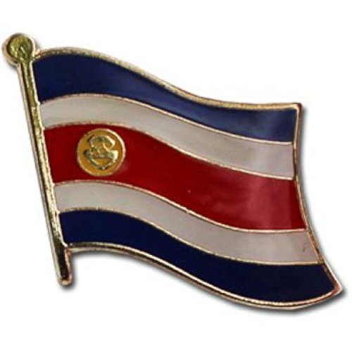 Backwoods Barnaby Costa Rica Flag Lapel Pin