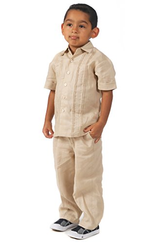 Mojito Collection (Linen Shirt Set (4T, Khaki))