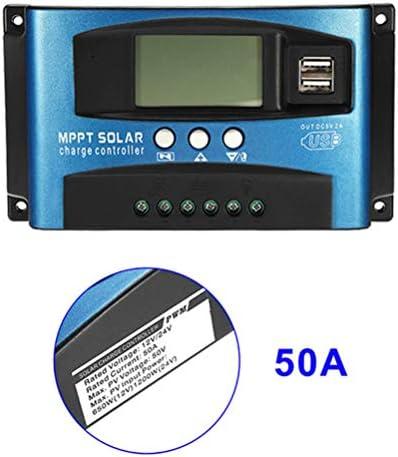 Heißer Verkauf!!! 50A MPPT Solarpanel Regler Laderegler 12 V / 24 V Autofokus-Tracking-Gerät