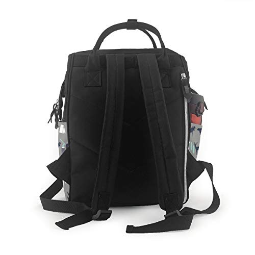 Rv There Yet Mens Tee Camping Traveling Funny Motorhome Diaper Bag Backpack Mommy Bag Large Capacity Stylish Durable Waterproof Multifunction Travel Back Pack