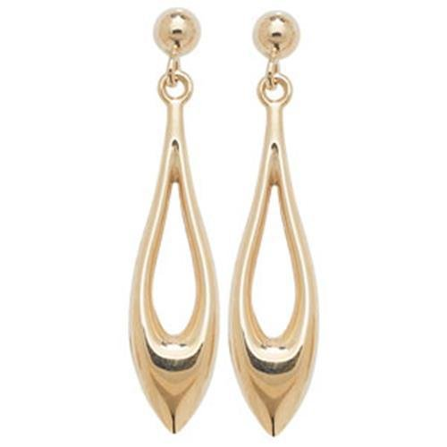 9 ct or Boucles d'oreilles clous