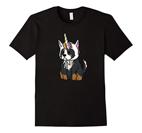 Unicorn Bernese Mountain Dog T-Shirt Funny Dog Shirt