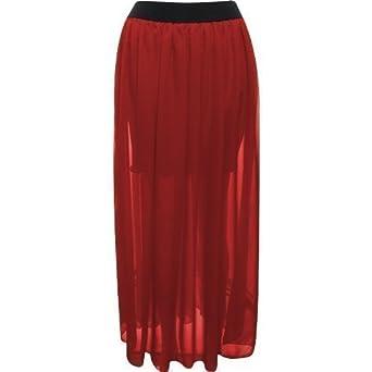 FLIRTY WARDROBE para Mujer diseño de Larga Maxi Vestido diseño de ...
