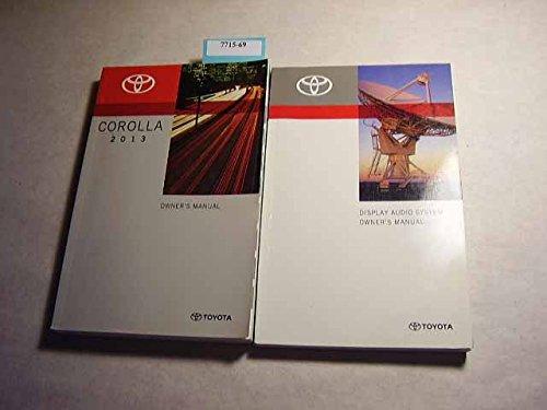 2013 corolla owners manual - 5