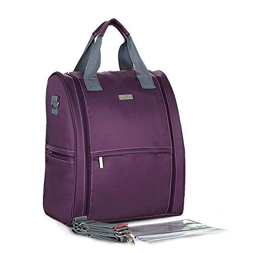 Baby Boy Girl Diaper Nappy Mother Bag Portable Handbag (Blue) - 8