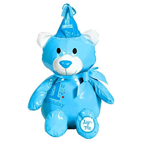 1st Birthday Autograph Bear