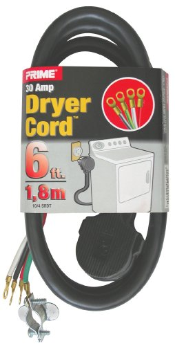 6' 30a Dryer Cord - 9