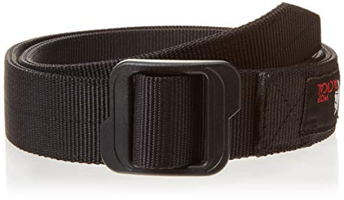 WOLF TACTICAL Military Style Tactical Belt - 2-Ply Heavy Duty Nylon Belt - No Metal - EDC Outdoor Sports Wilderness Hunting Tools Survival Concealed Carry CCW Holsters Pouches