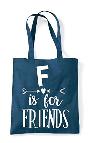 Bag Best For F Statement Petrol Shopper Matching Tote Friends Friend Is Bff CqC5tBzw