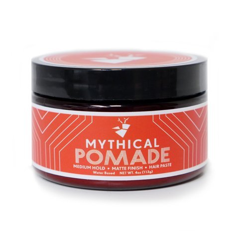 Mythical Pomade for Men and Women – Medium Hold – Matte Finish – Water Based – Unisex – Hair Paste for Straight, Thick and Curly Hair – 4 oz – By YouTube celebrities Rhett and Link with Beard and Lady Review