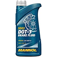 MANNOL DOT 3 3003 - High performance synthetic brake fluid for all types of hydraulic clutches, anti-lock, hydraulic…
