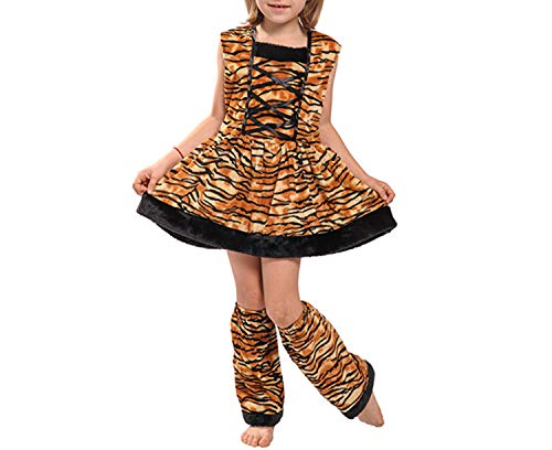 Costumes Cute Headband CHalloween Costume Tiger Costume Dress Fors,Gold,S,Tiger -
