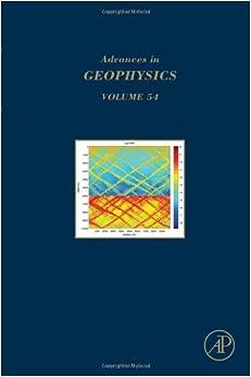 Book Advances in Geophysics: 54